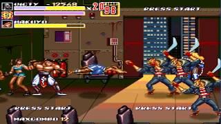 OpenBoR games: Streets of Rage XXX playthrough - part 3/3