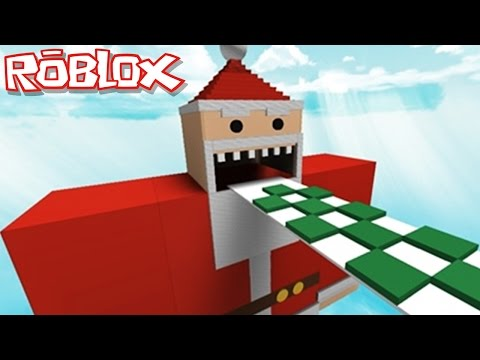 Roblox Adventures / Escape the Evil Santa Obby / Christmas is EVIL!!