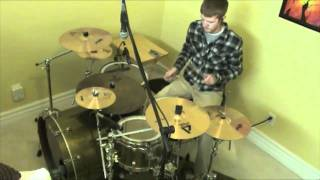 "Drum Cover - ""Here You Me,"" Jimmy Eat World - Andrew Bushway"