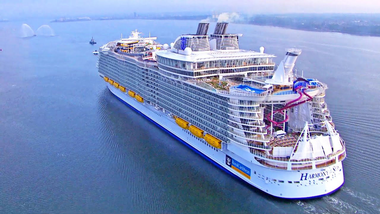 Harmony of the Seas inside - Royal Caribbean. Cruceros / Cruises, Cruise ship, tour travel - YouTube