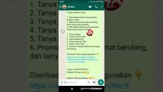 Jawab Cepat Di Whatsapp, FN, Messenger, IG dll