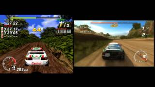 Sega Rally (1995) Vs Sega Rally Online Arcade (PS3)
