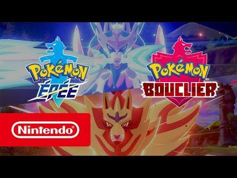 Pokémon Épée et Bouclier - Bande-annonce de présentation (Nintendo Switch)
