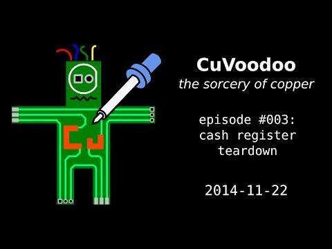 CuVoodoo #003 - cash register teardown