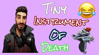 Fortnite Save The World Tiny instrument of death! I Don't Get it. 😫
