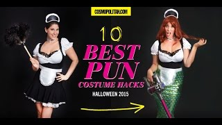 P.S.- I made this... Punny Halloween Costumes with Cosmopolitan.com