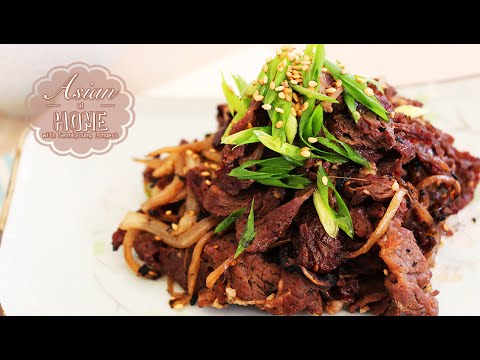 Bulgogi (Korean BBQ) Recipe
