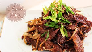 Bulgogi (korean Bbq Recipe) : Bulgogi Recipe : Grilled Marinated Beef