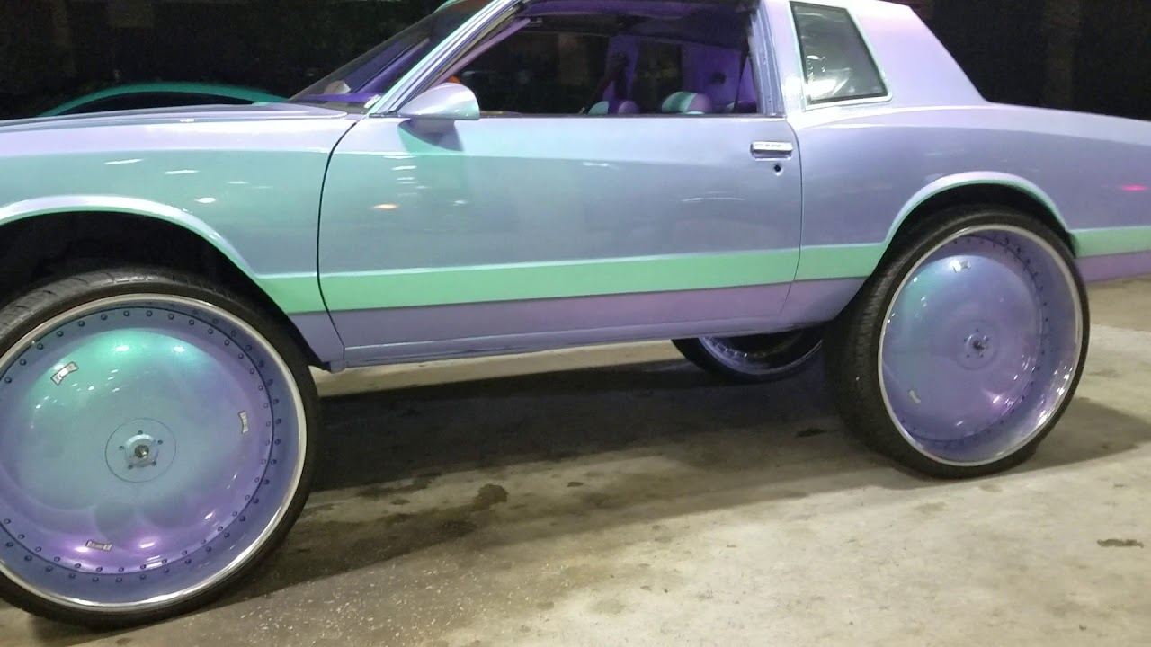 Chevy monte Carlo ss on 32s - YouTube