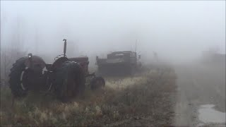 Abandoned Salvage Yard (In the Fog)