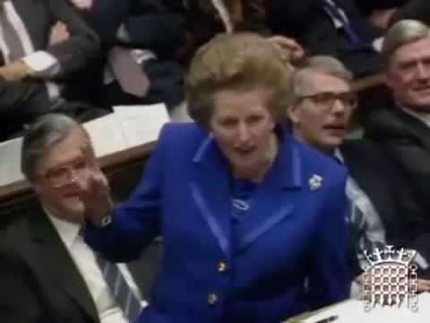Thatcher and the single currency 1990 house of lords - greek subs