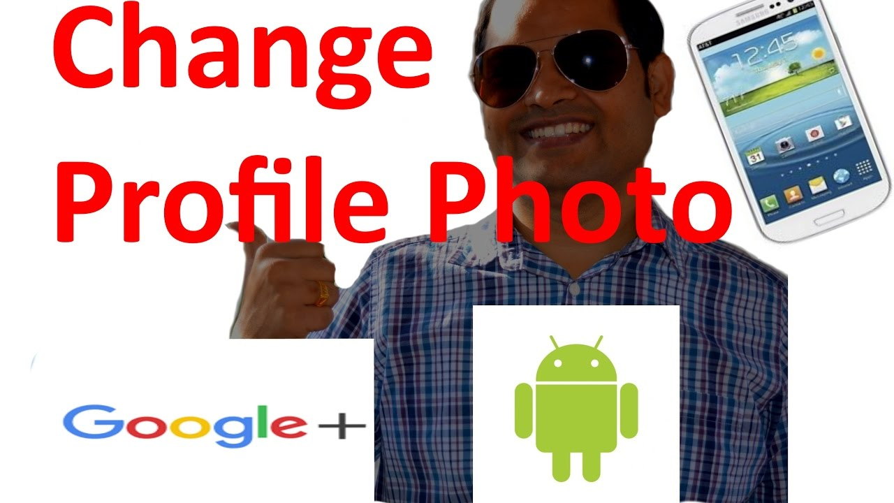 How to change the profile photo in Gmail Android App - YouTube