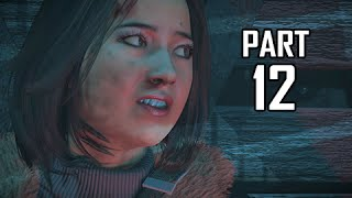 Until Dawn Walkthrough Part 12 - Stranger (PS4 Let