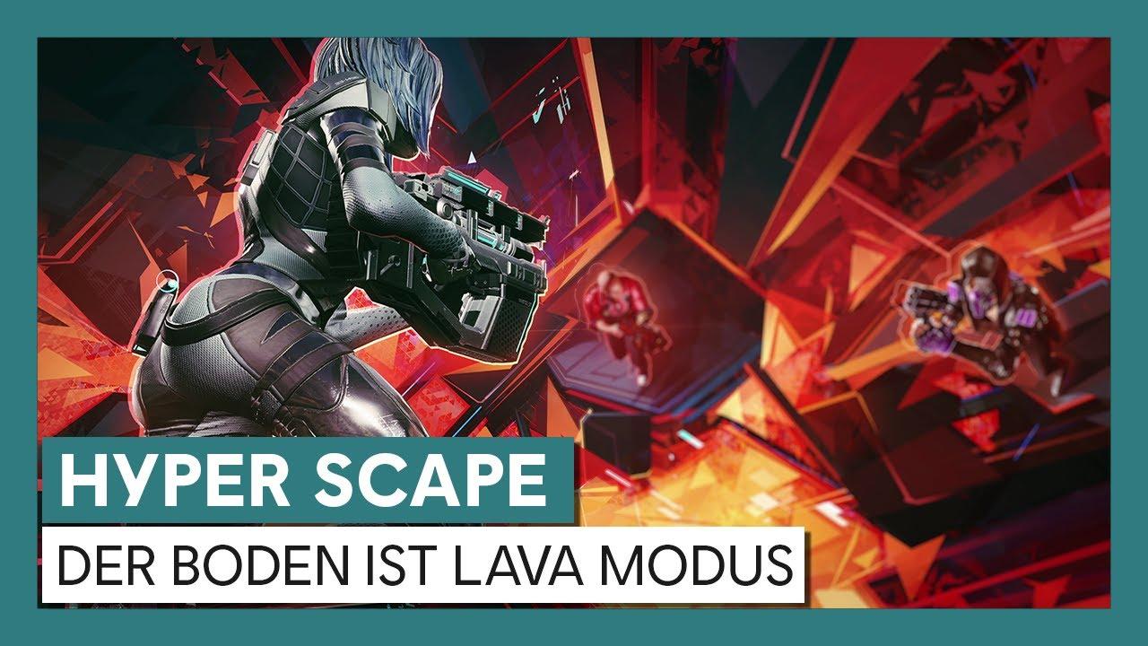 Hyper Scape: der Boden ist Lava -Trailer  | Ubisoft