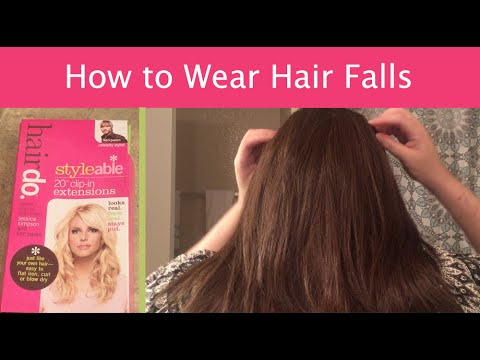 how to style hair extensions with clip ins wigs 101 how to wear clip in hair falls or extensions 6020