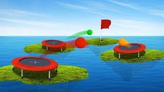 EXTREME ISLAND GOLF MINIGAMES! (Golf It)