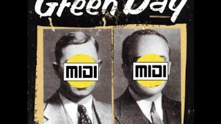 Green Day: Take Back [MIDI, w/ DOWNLOAD]