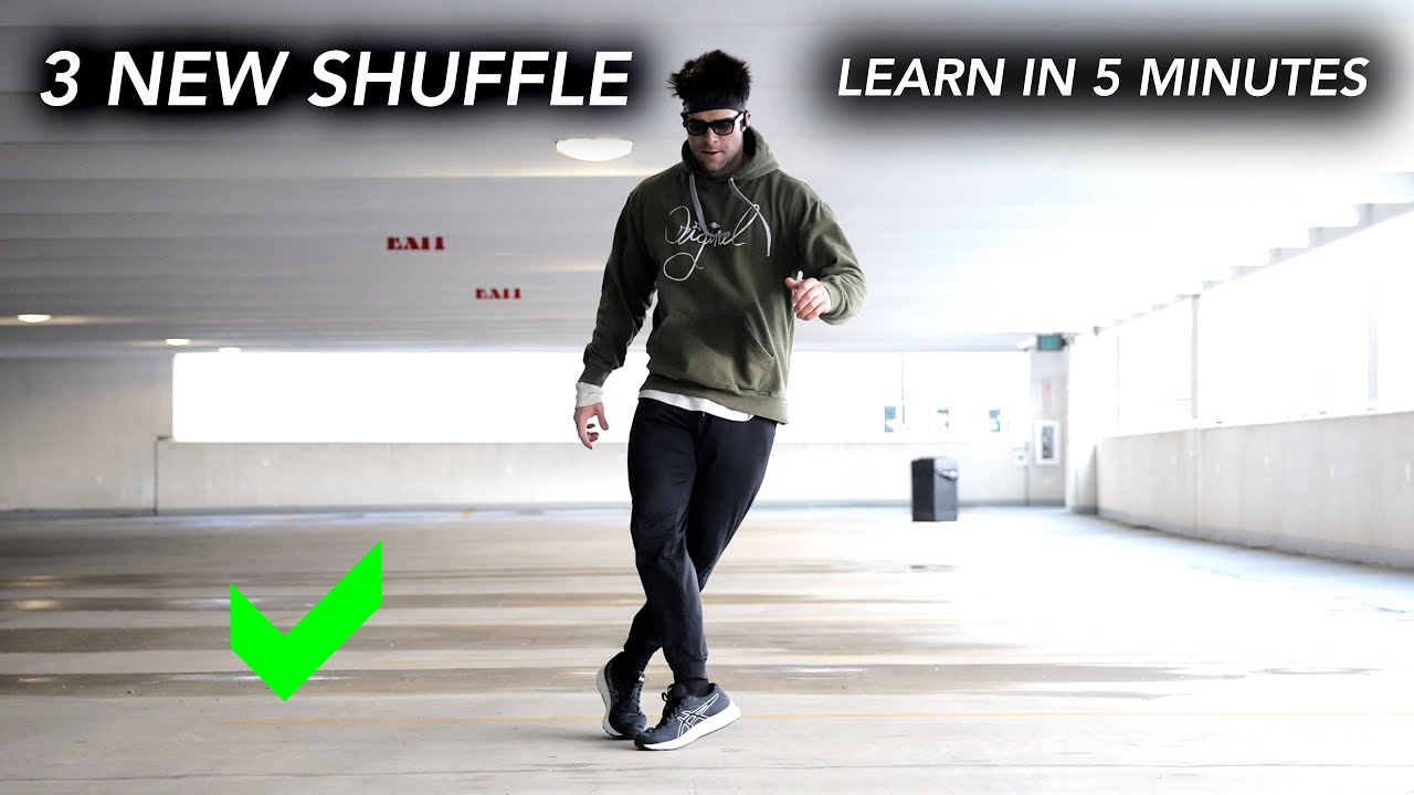 How to Learn 3 Cool Shuffle Variations Fast – Beginner to More Pro steps (2021) – In Only 5 Minutes
