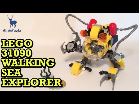 Lego Creator 31090 Alternate Mech - Walking Sea Explorer In U.W. Robot - SpeedBuild Construction Toy