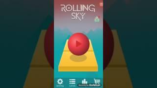 Rolling sky oynadim cok guzeldi (oyuncu cocuk)
