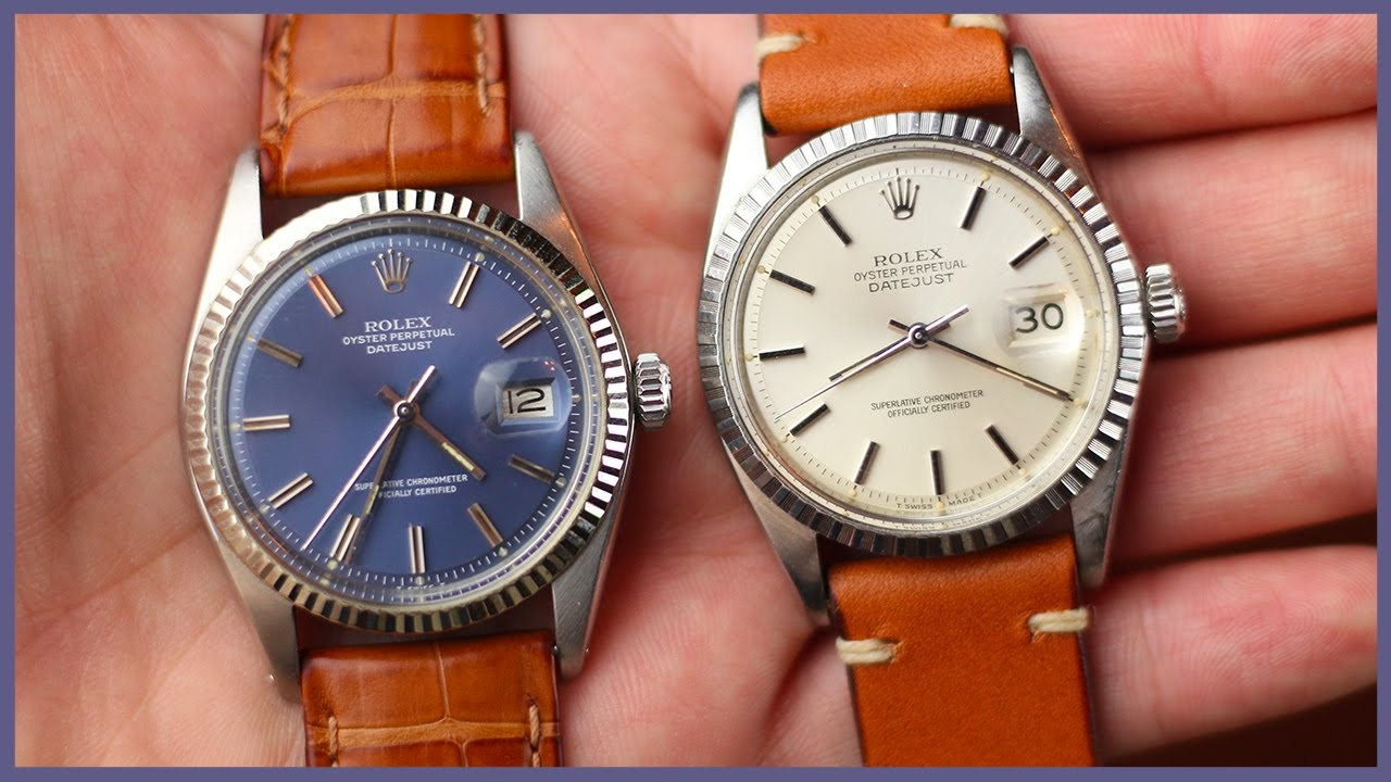 Vintage Rolex Datejust, The Perfect Watch. | #ASKTNH 123 - YouTube