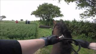 Lea Manor Farm (Cheshire Hunt) Hunter Trials - 80cm (14/06/2015) - GoPro ChestCam