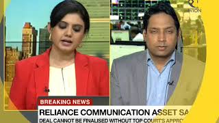 Breaking News: Reliance Communication asset sale