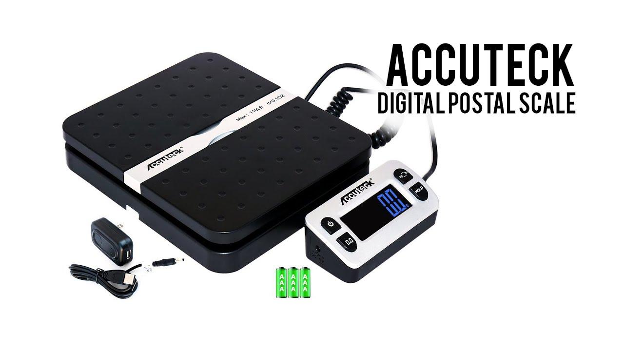 Acteck Ship Pro 65LB x0.1 OZ Digital Shipping Postal Scale Black