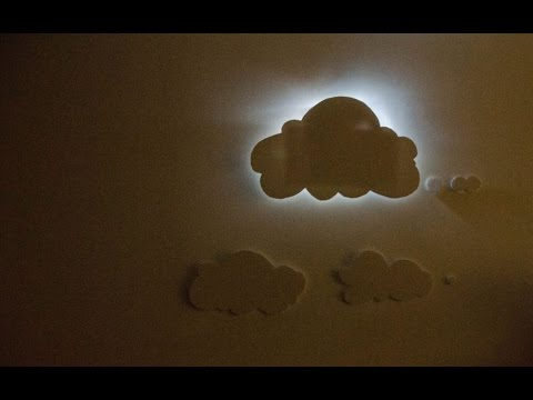 Diy How To Make Simple Led Night Lamp 3d Wall Decoration