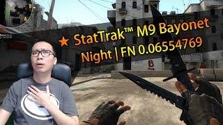 รีวิวมีด ★ StatTrak™ M9 Bayonet   Night FN 0.065 ราคา 500,000 บาท