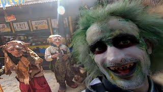 Halloween Port Aventura Salou Spain Салоу Испания. Нечесть и ужасы.
