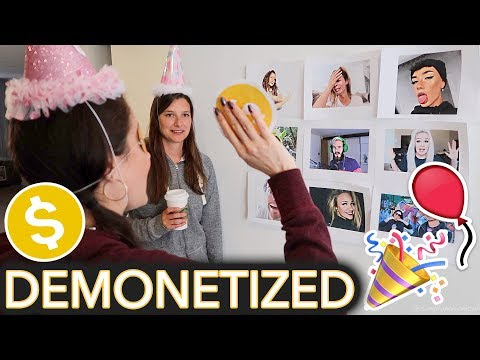 Throwing Myself a Childrens Birthday Party (ft. ~Demonetize The YouTuber~ game)