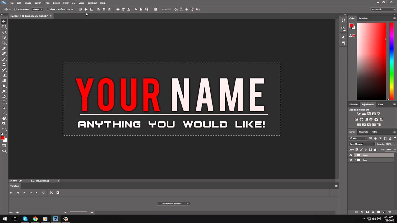 Free Signature PSD + Download - YouTube
