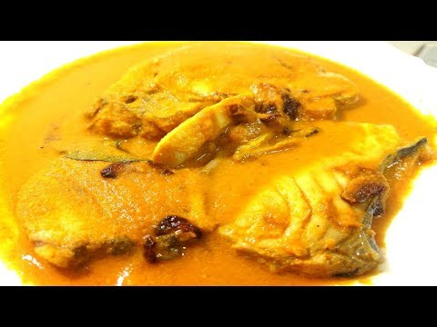 King Fish Curry Mangalore Style | King Fish Curry Mangalorean Style