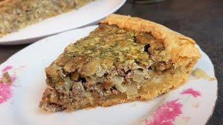 Пирог с печенью!!! Невероятный вкус!!!
