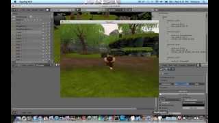 blender 3D 2.6 Gamekit addon install and test