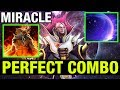 PERFECT COMBO INVOKER MIRACLE Dota 2
