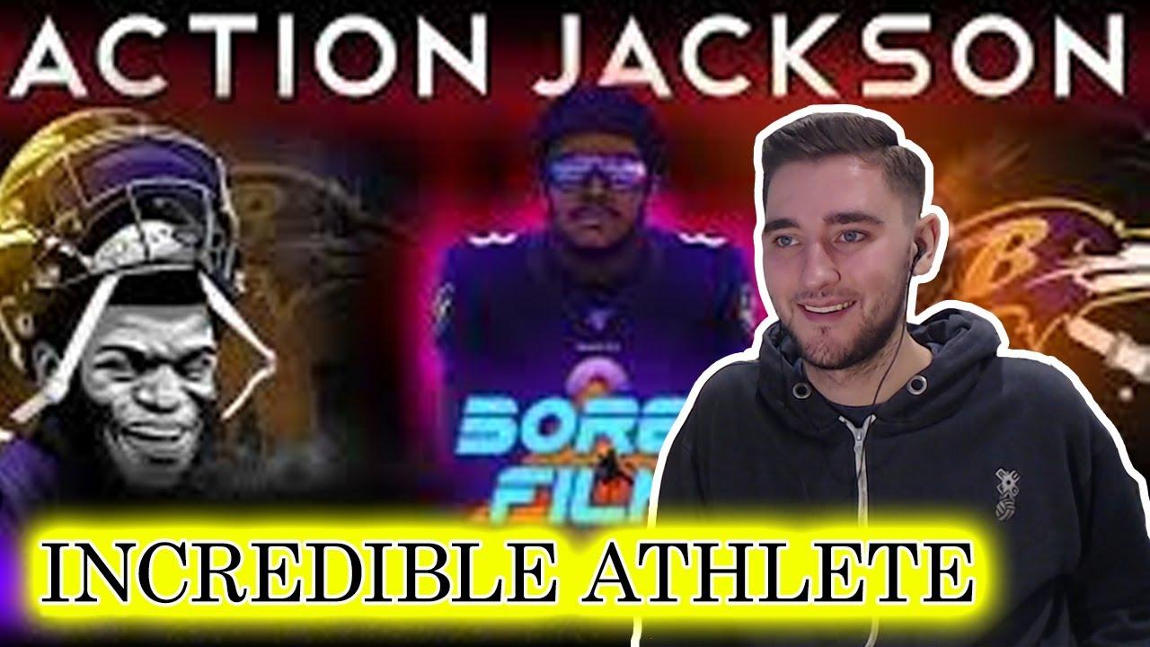 Download British Soccer Fan Reacts to American Football - Lamar Jackson *Action Jackson* - Joseph Vincent