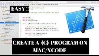 ÖĞRENME C PROGRAMLAMA || Mac OS | 1| C PROGRAMI || PROGRAMLAMA || BORU || BİR KISMINI OLUŞTURMAK