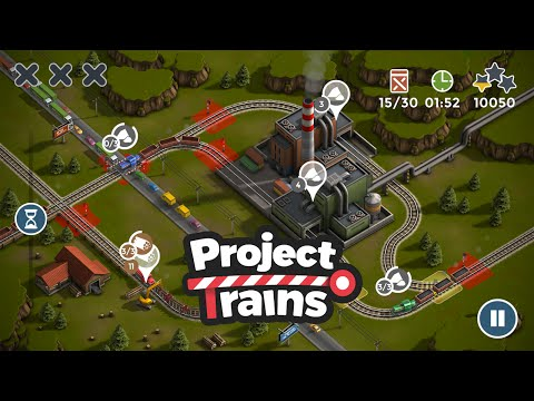 Project Trains: Traffic Control Gameplay Trailer HD