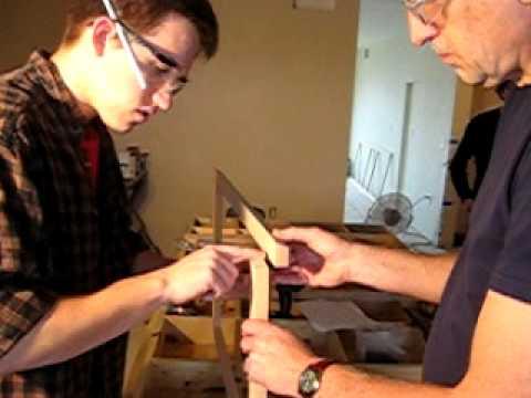 aasd/aha house build week 21 - Cabinet Face Frames
