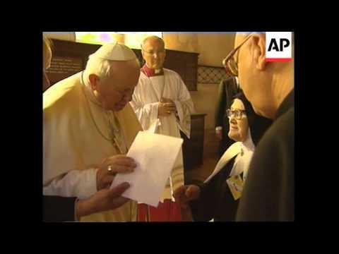 PORTUGAL: POPE JOHN PAUL II VISIT