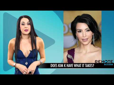 Kim Kardashian Booking Acting and Hosting Gigs: More Than Just a Reality Star?