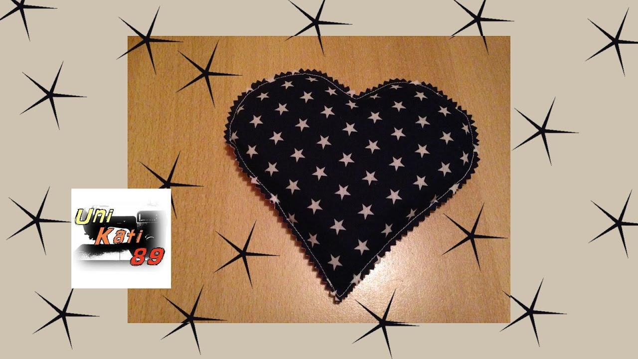 Herz Kirschkernkissen Nahen Anfanger Geschenk Valentinstag