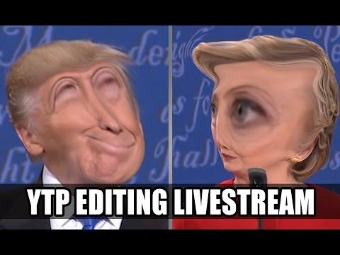 Livestream Archive 10-9-16 | cs188's Debate YTP Editing
