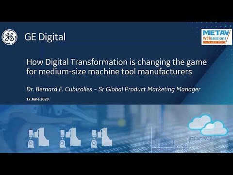 Digital Transformation for Machine Tool Manufacturers