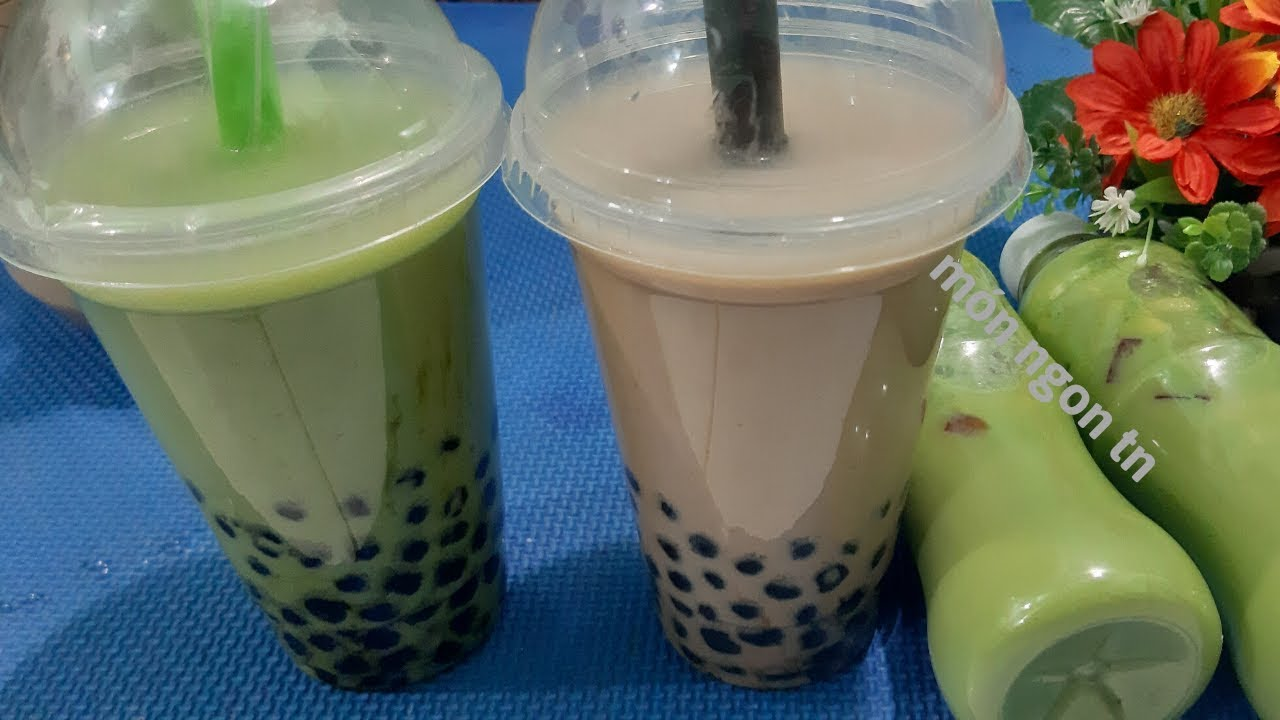 Cách làm Trà Sữa Thái Trân Châu béo ngon và đơn giản