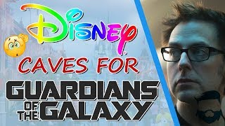 Disney Caves! Rehires James Gunn For Guardians Of The Galaxy 3