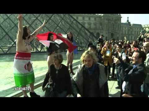 Muslim women unveil to protest aga Seven women on Saturday in France