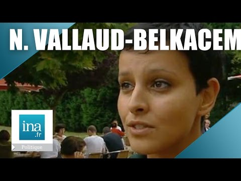 La 1ère télé de Najat Vallaud-Belkacem   Archive INA